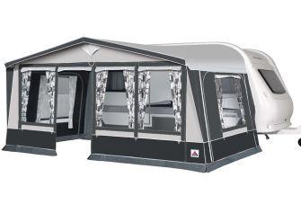 Voortent Doréma Ibiza 240 De Luxe incl. Staal frame