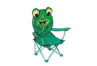 Bo-Camp Kinderstoel Opvouwbaar Safety-lock Kikker model