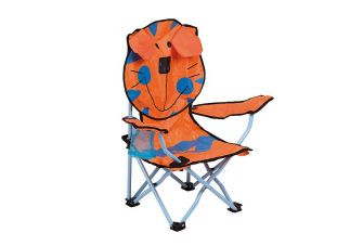 Bo-Camp Kinderstoel Opvouwbaar Safety-lock Tijger model