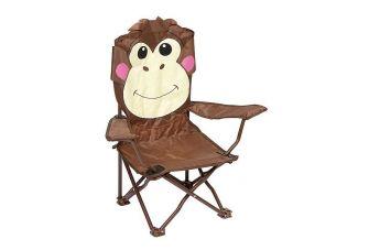 Bo-Camp Kinderstoel Opvouwbaar Safety-lock Aap model