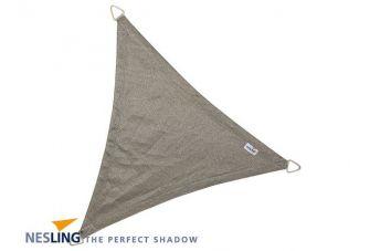 Nesling Schaduwdoek Coolfit Antraciet driehoek 5m