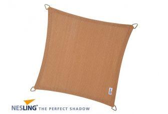 Nesling Schaduwdoek Coolfit Zand vierkant 3,6m