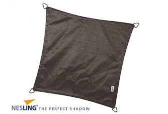 Nesling Schaduwdoek Coolfit Antraciet vierkant 5m