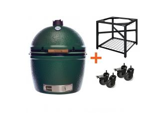 Big Green Egg 2XL incl. Egg Frame & Caster Kit