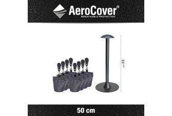 Aerocover support pole set