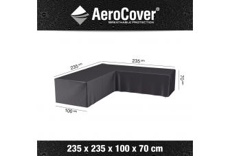 Aerocover Loungesets L-vorm - lage rug