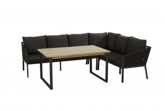 Taste 4SO Cruz Tuinset 6 personen 140x90cm
