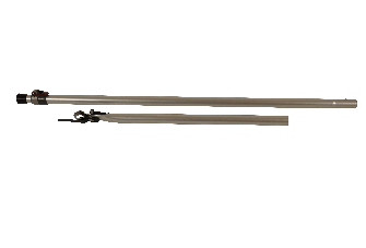 Steunstok met buisklem - Verstelbaar - Aluminium