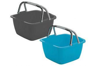 Afwasbak vierkant - 18,5 liter
