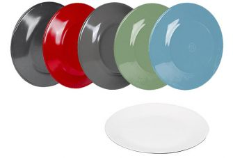 Bo-Camp Dinerbord Two Tone