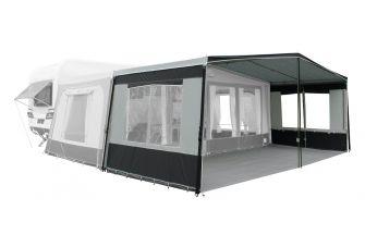 REDA - Genova Premium Voortentluifel - Solid Anthracite