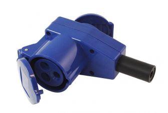 Gimeg CEE Contrastekker - Haaks stopcontact