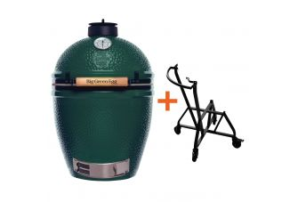 Big Green Egg Medium incl. IntEGGrated Nest+ Handler