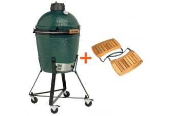 Big Green Egg Medium incl. Nest & Acacia Egg Mates