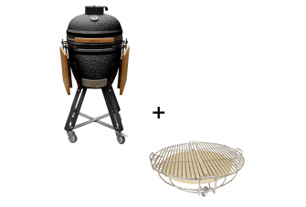 Outr Kamado Medium 50 Barbecue + Set Roosters