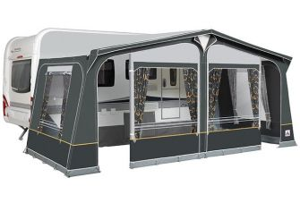 Voortent Starcamp Olympic XL300 incl. Staal frame