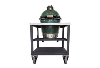 Big Green Egg Medium in RVS Tafel