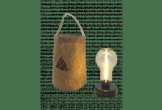 Human Comfort Gers Jute Lamp