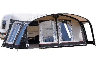 Voortent Unico Turijn 320 - Taupe/Mid Grey