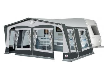Voortent Doréma President XL300 incl. Staal frame